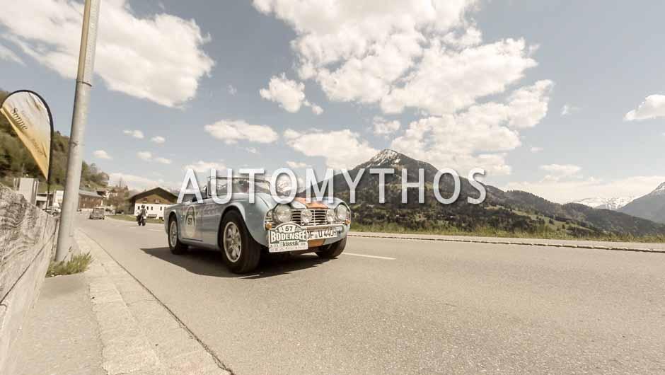 Automythos | 5. Bodensee Klassik 2016 | 57 | Ralph Lorenz & Ursula Andrae | Triumph TR4