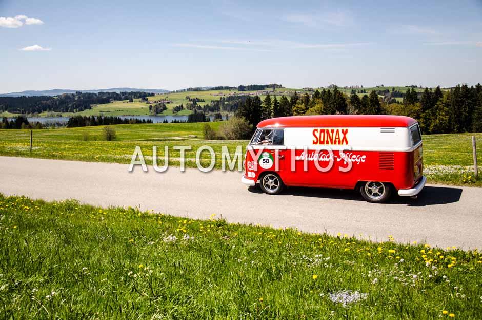 Automythos   5. Bodensee Klassik 2016   58   Dirk Hattenhauer & Tim Lücke   Volkswagen T1