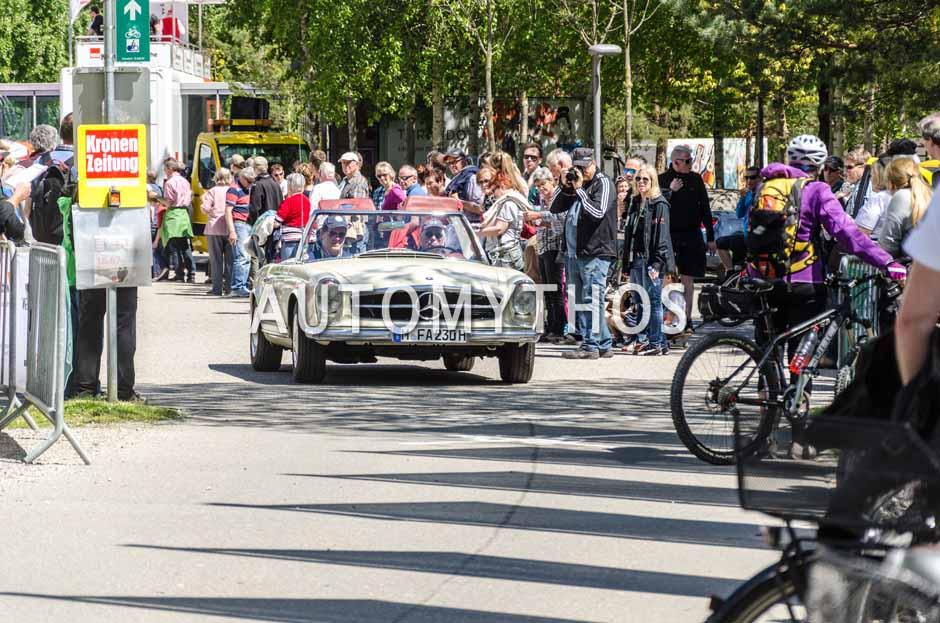 Automythos | 5. Bodensee Klassik 2016 | 61 | Günter Nogaschewski & Florian Aigner | Mercedes-Benz 230 SL