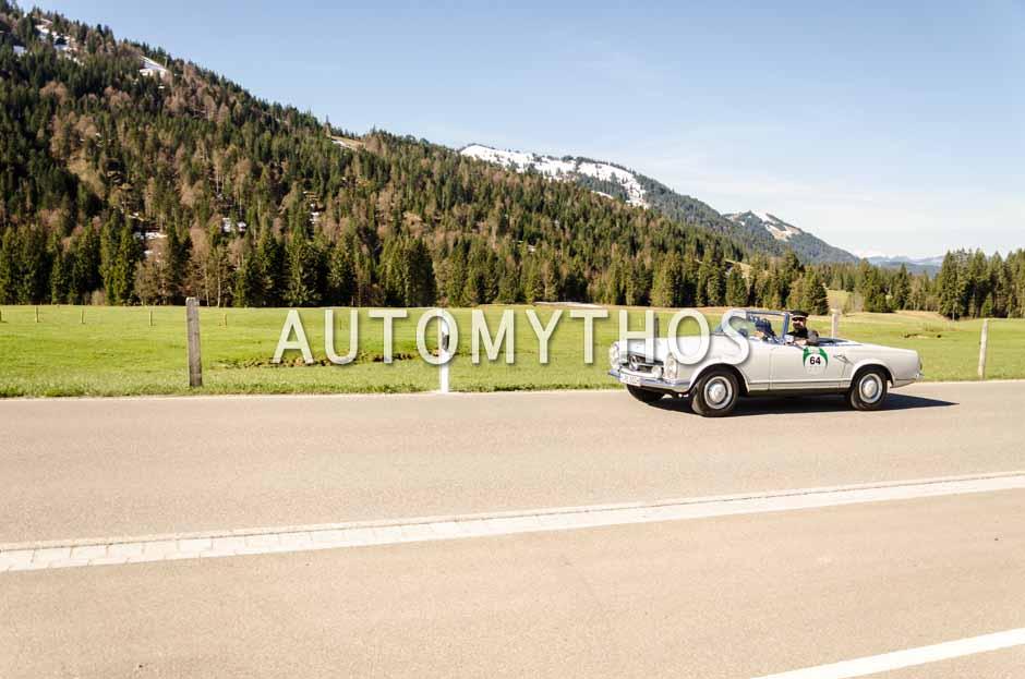 Automythos | 5. Bodensee Klassik 2016 | 64 | Ralph Schwarz & Dr. Heinz Gerathewohl | Mercedes-Benz 230 SL