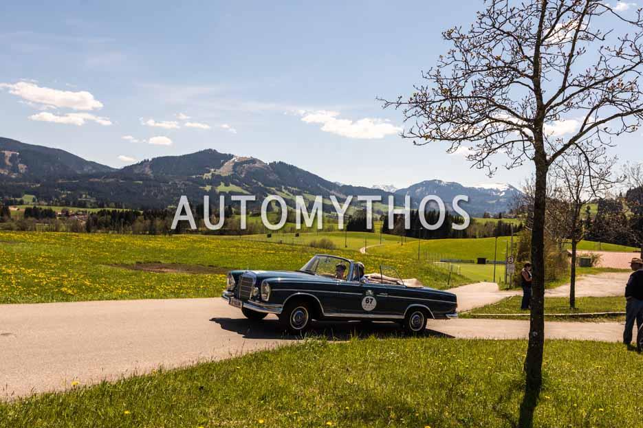 Automythos | 5. Bodensee Klassik 2016 | 67 | Chiara Dür & Marco Zaversnik | Mercedes-Benz 300 SE