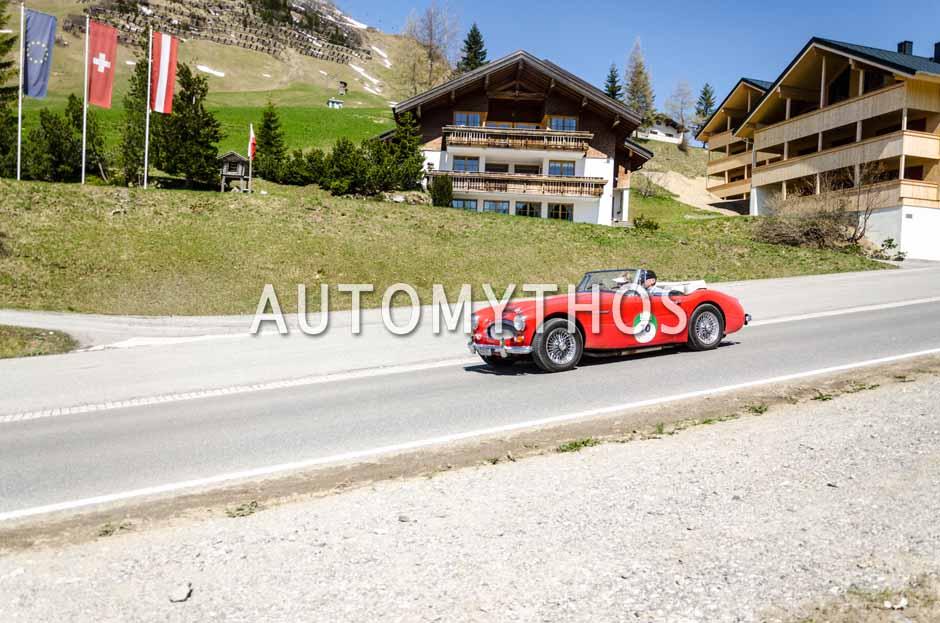 Automythos | 5. Bodensee Klassik 2016 | 70 | Kurt Zehender & Monika Zehender | Austin-Healey 3000 MK III