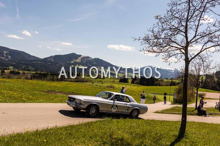 Automythos | 5. Bodensee Klassik 2016 | 72 | Gilles Wallers & Yves Wallers | Ford Mustang