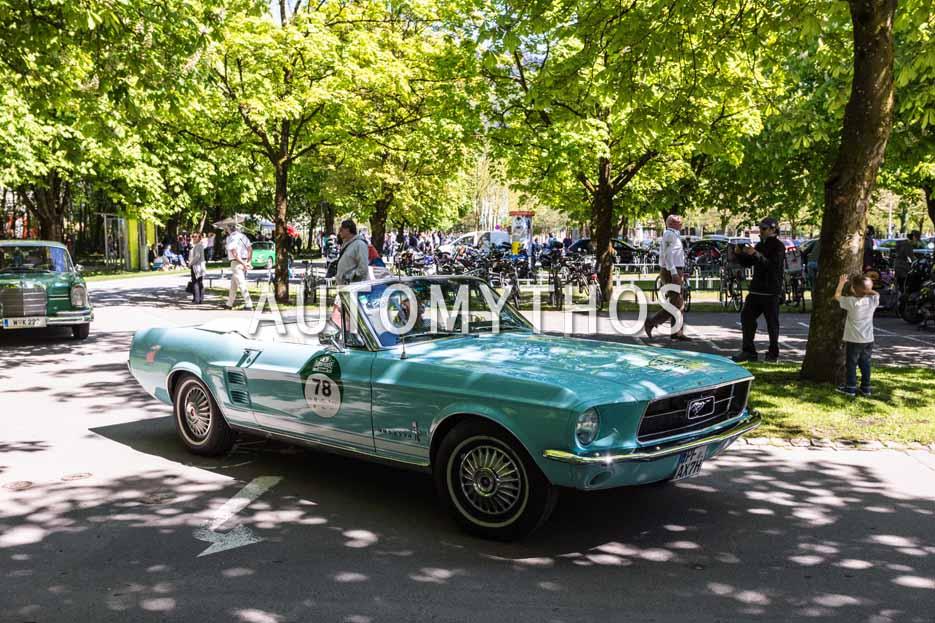 Automythos | 5. Bodensee Klassik 2016 | 78 | Andrea Meiswinkel & Sven Meiswinkel | Ford Mustang Convertible