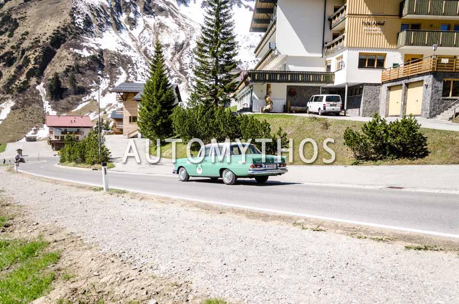 Automythos | 5. Bodensee Klassik 2016 | 79 | Dr. Norbert Griesmayr & Ferdinand Baumgartner | Mercedes-Benz 220 Sb