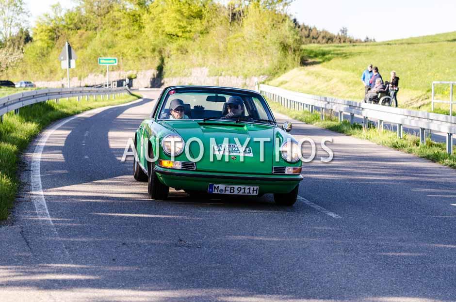 Automythos | 5. Bodensee Klassik 2016 | 80 | Franz Bergmüller & Kirsten Bergmüller | Porsche 911 S Targa
