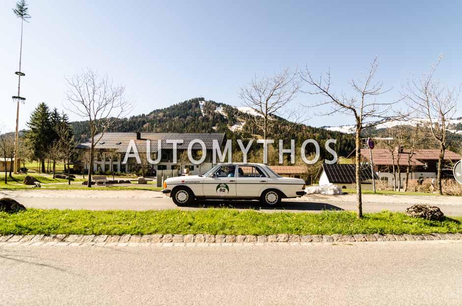 Automythos | 5. Bodensee Klassik 2016 | 82 | Frank Zipperlen & Andreas Urbanetz | Mercedes-Benz 240 D