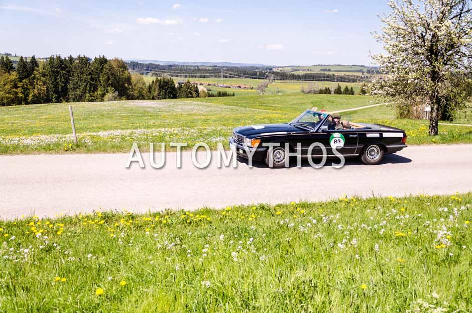 Automythos | 5. Bodensee Klassik 2016 | 83 | Rüdiger Brandenburg & Andreas Grimm | Mercedes-Benz 500 SL
