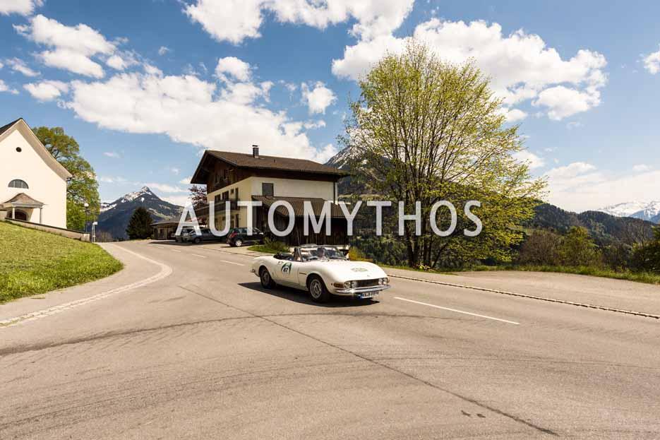 Automythos | 5. Bodensee Klassik 2016 | 87 | Gerd Nowitzki & Claudia Uhr | Fiat Dino Spider