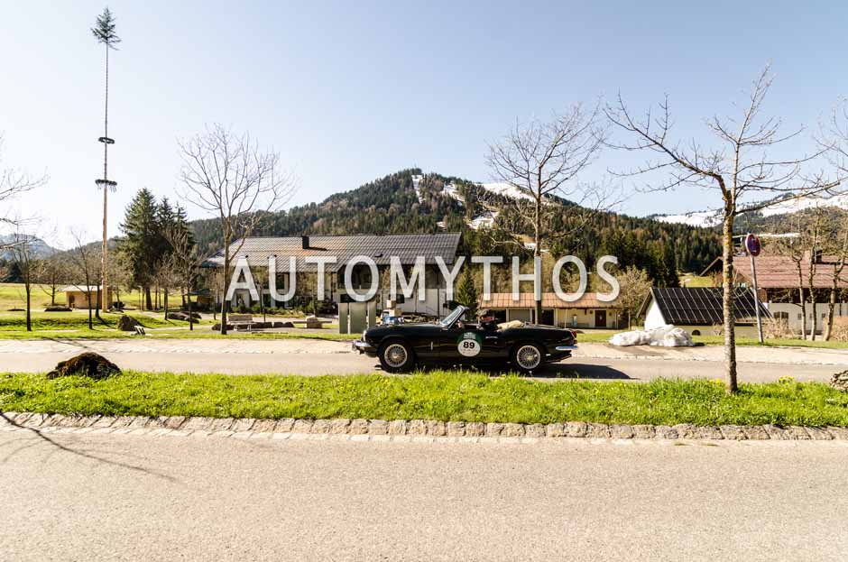 Automythos | 5. Bodensee Klassik 2016 | 89 | Herbert Müller & Paul Hofer | Triumph Spitfire MK III