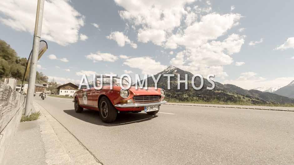 Automythos | 5. Bodensee Klassik 2016 | 91 | Florian Büngener & Benjamin Schweppe | Fiat 124 Sport Spider