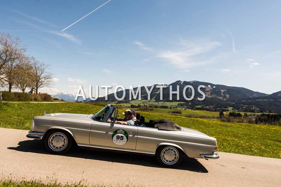 Automythos | 5. Bodensee Klassik 2016 | 95 | Carsten Pähler & Silke Pähler | Mercedes-Benz 280 SE Cabriolet