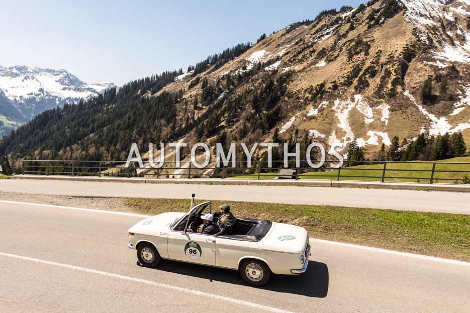 Automythos | 5. Bodensee Klassik 2016 | 96 | Jan Patrick Lehmann & Fritz Möss | BMW 1600 Cabriolet
