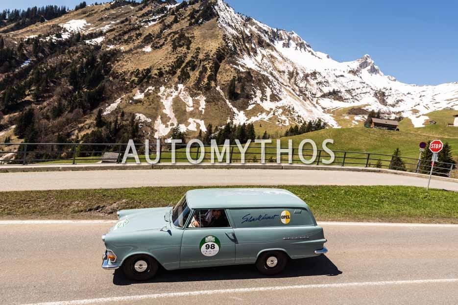Automythos | 5. Bodensee Klassik 2016 | 98 | Petr Fiala & Sona Nejedlá | Porsche 911 S & Opel Olympia Rekord P2