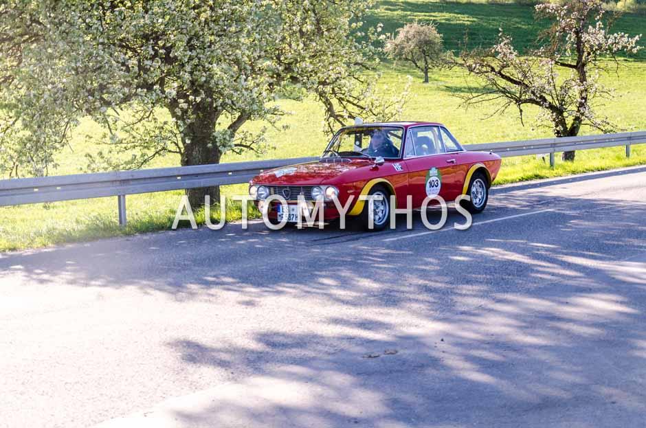 Automythos | 5. Bodensee Klassik 2016 | 103 | Janis Ernst & Marcus Fischer | Lancia Fulvia Coupé HF 1600