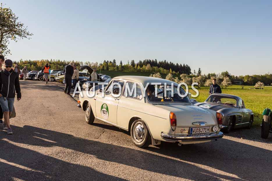 Automythos | 5. Bodensee Klassik 2016 | 107 | Thomas Eitelwein & Candida Eitelwein | Volkswagen 1600 L Typ 3