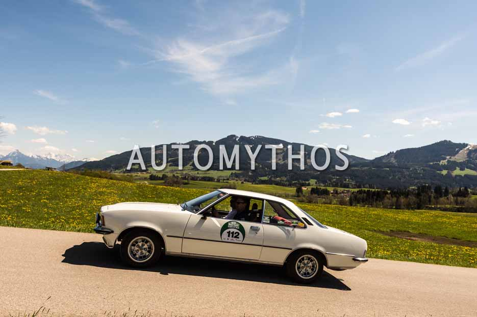 Automythos | 5. Bodensee Klassik 2016 | 112 | Axel Ernst & Johannes Bitter-Suermann | Opel Commodore B GS/E
