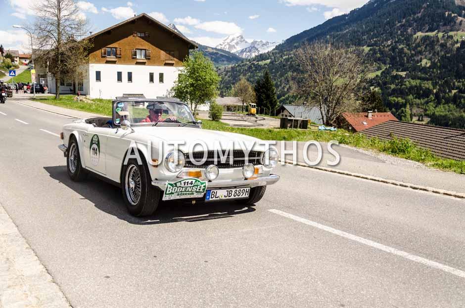 Automythos | 5. Bodensee Klassik 2016 | 114 | Johannes Bitzer & Dr. Patrick Sulz | Triumph TR6 PI