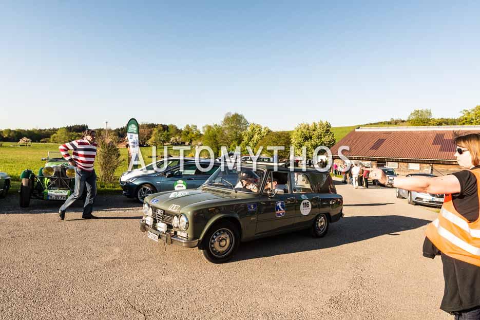 Automythos | 5. Bodensee Klassik 2016 | 116 | Marco Martelosio & Guido Scherrer | Alfa Romeo Giulia Super Giardinetta Polizia