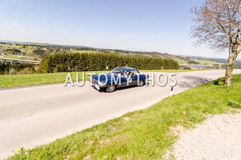 Automythos | 5. Bodensee Klassik 2016 | 118 | Dr. Ralph Oliver Baumann & Christoph Gordon Baumann | Mercedes-Benz 350 SLC