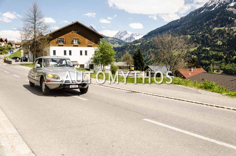 Automythos | 5. Bodensee Klassik 2016 | 120 | Hans-Peter Blandow & Alain Steiger | Citroën DS 23 Injection