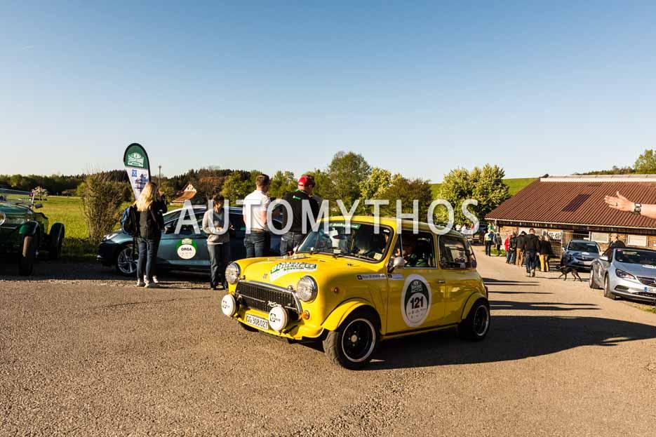 Automythos | 5. Bodensee Klassik 2016 | 121 | Peter Schmid & René Henecke | Innocenti Mini Cooper