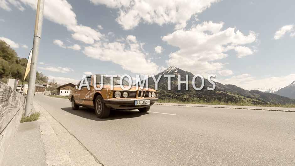 Automythos   5. Bodensee Klassik 2016   122   Jean-François Wulpillier & Claudio Colombo   Jaguar E-Type Series 3 & BMW 730