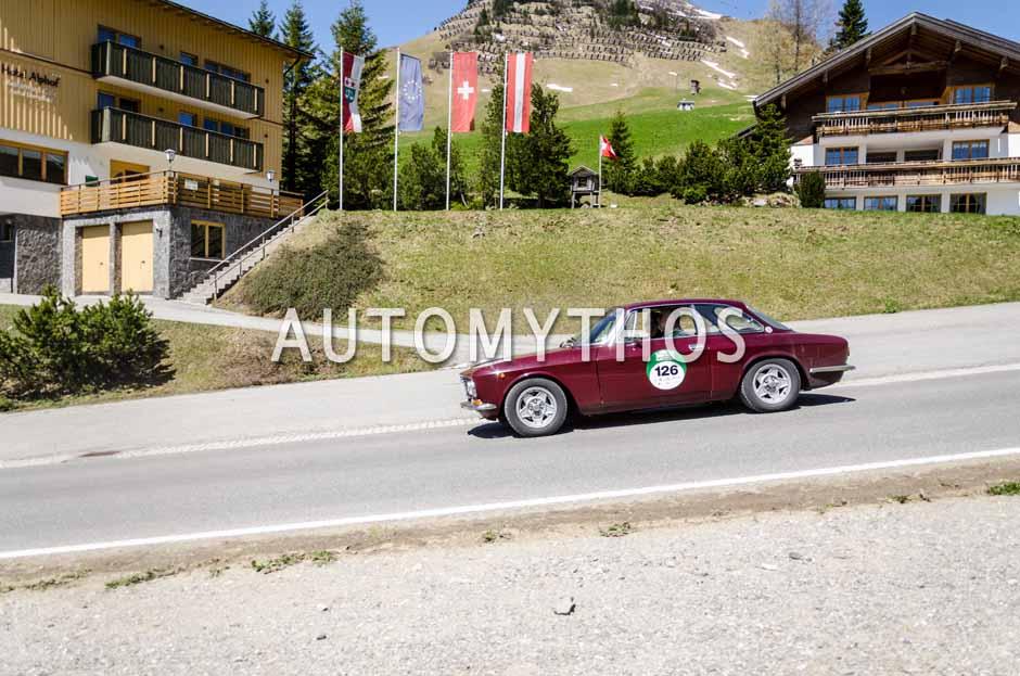 Automythos | 5. Bodensee Klassik 2016 | 126 | Werner Krüger & Dagmar Peters | Alfa Romeo GT 1600 Junior
