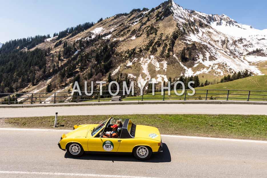 Automythos | 5. Bodensee Klassik 2016 | 127 | Thomas Groschek & Anke Groschek | Volkswagen-Porsche 914