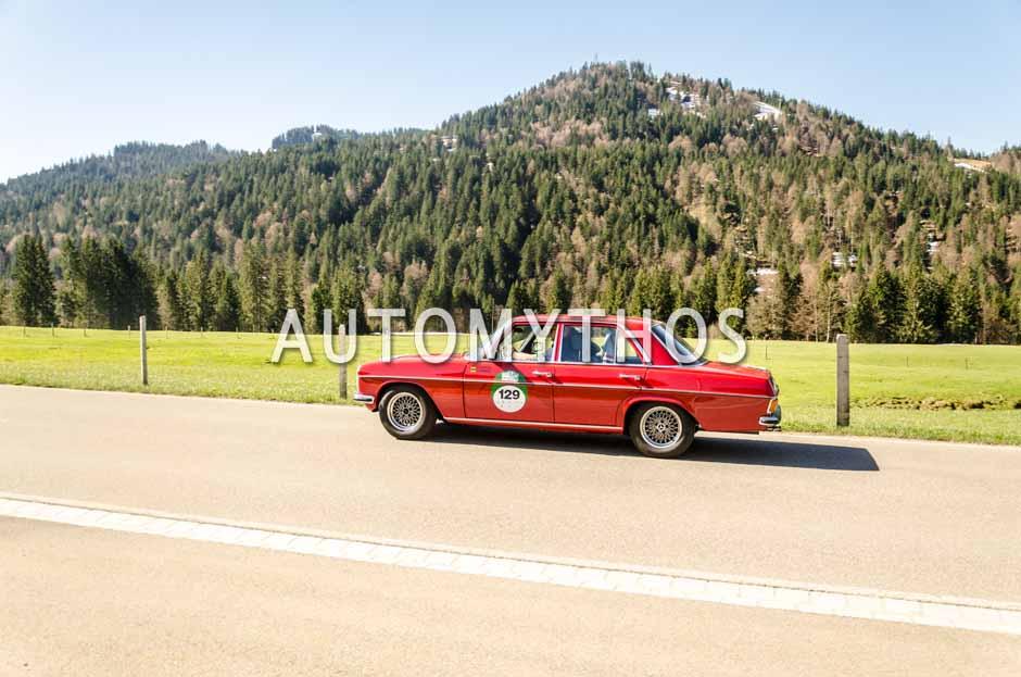 Automythos | 5. Bodensee Klassik 2016 | 129 | Christian Köppen & Gabriele Köppen | Mercedes-Benz 200 D