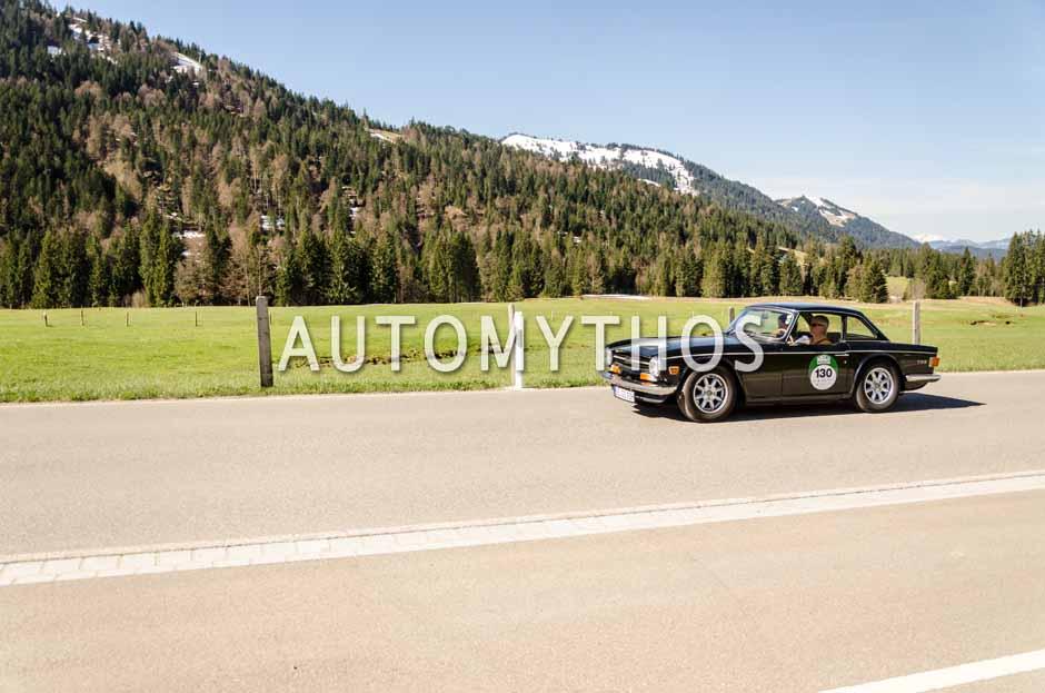 Automythos | 5. Bodensee Klassik 2016 | 130 | Gunnar Steinbach & Melanie Wensing | Triumph TR6 PI