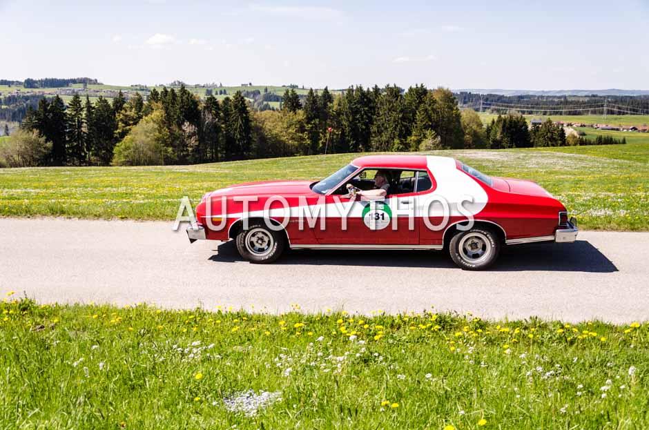 Automythos | 5. Bodensee Klassik 2016 | 131 | Walter Koch & Birgit Bieber | Ford Gran Torino