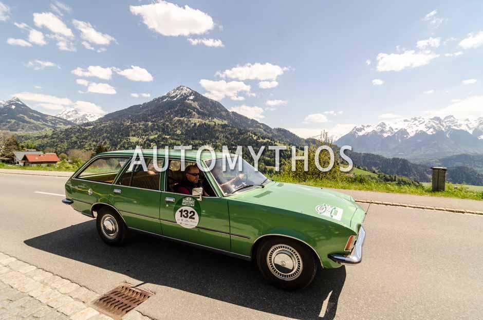 Automythos | 5. Bodensee Klassik 2016 | 132 | Wolfgang Berghofer & Christian Mathes | Opel Rekord D Caravan
