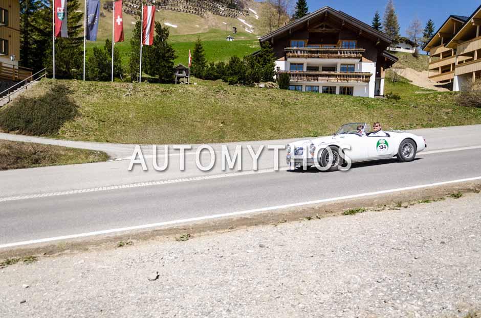 Automythos | 5. Bodensee Klassik 2016 | 134 | Marc Philippzik & Viola Wöllert | MG MGA 1600