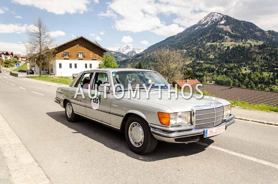 Automythos | 5. Bodensee Klassik 2016 | 135 | Robert Faber & Carsten Juhnke | Mercedes-Benz 280 SE