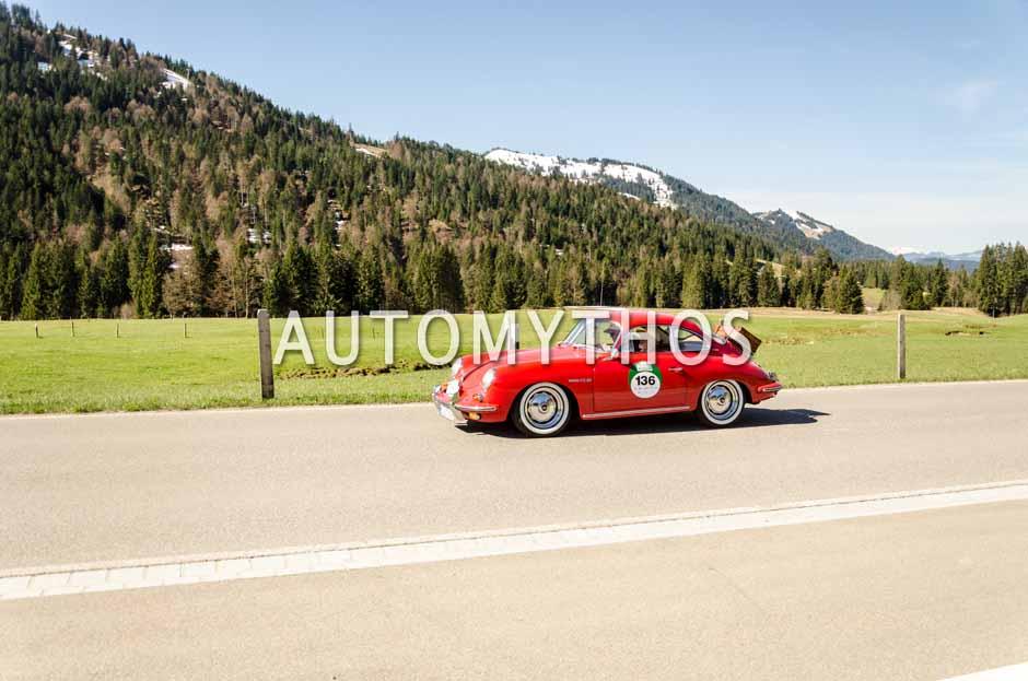 Automythos | 5. Bodensee Klassik 2016 | 136 | Egbert Tieskötter & Guido Tieskötter | Porsche 356 B T6 1600 Super Coupé