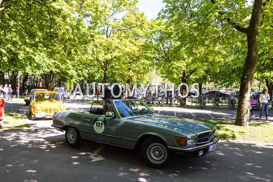 Automythos | 5. Bodensee Klassik 2016 | 137 | Thomas Krusenbaum & Dagmar Wolter | Mercedes-Benz 280 SL