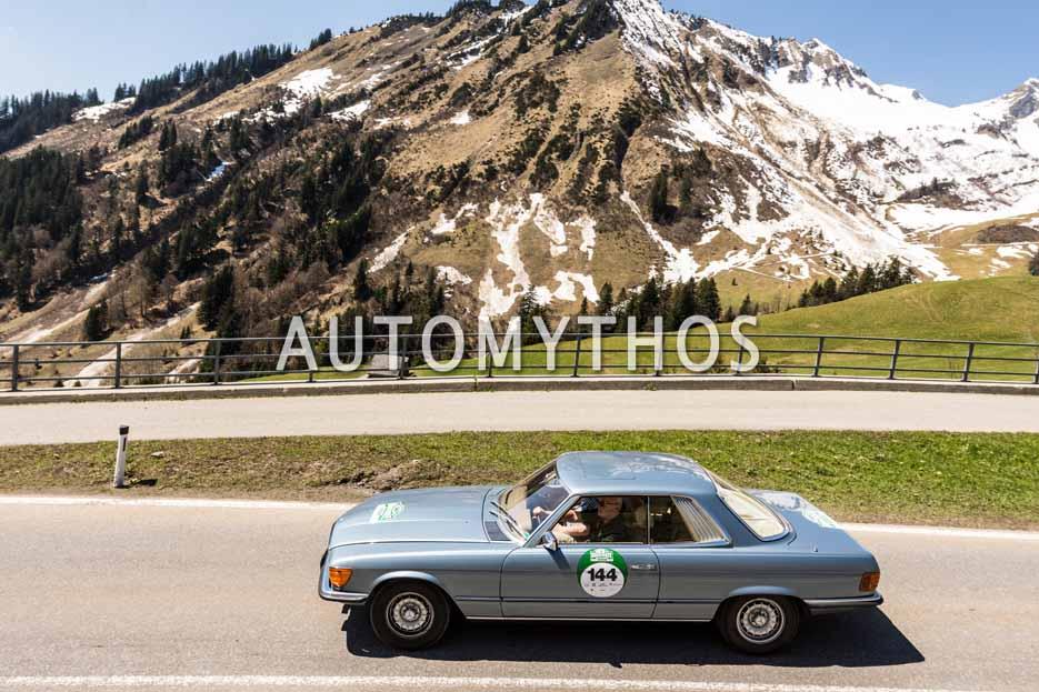 Automythos | 5. Bodensee Klassik 2016 | 144 | Wolfgang Bahlmann & Wolfgang Borutta | Mercedes-Benz 280 SLC