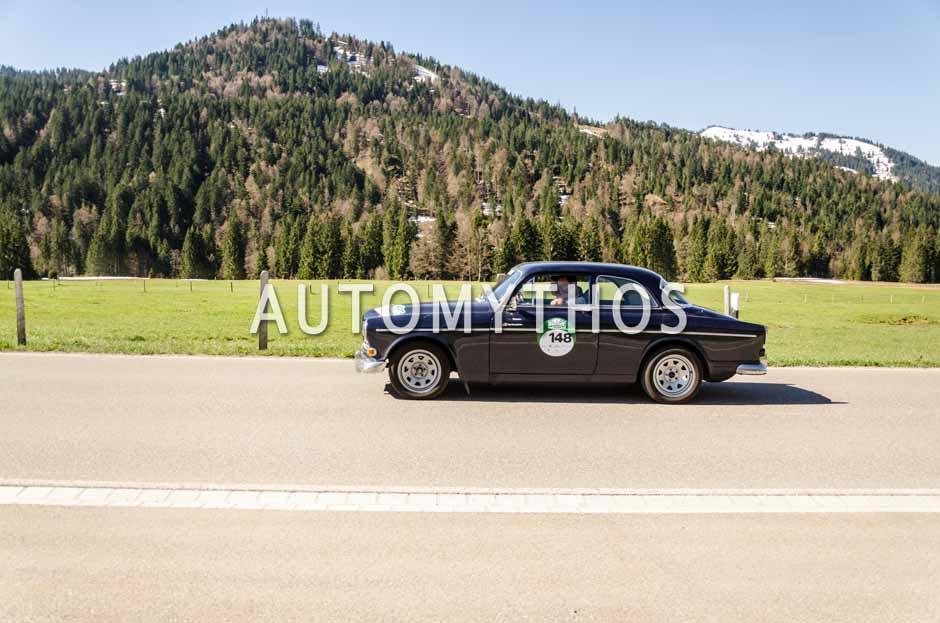 Automythos | 5. Bodensee Klassik 2016 | 148 | Marc Dietrich & Carin Dietrich | Lancia Beta Montecarlo (137 AS) & Volvo Amazon