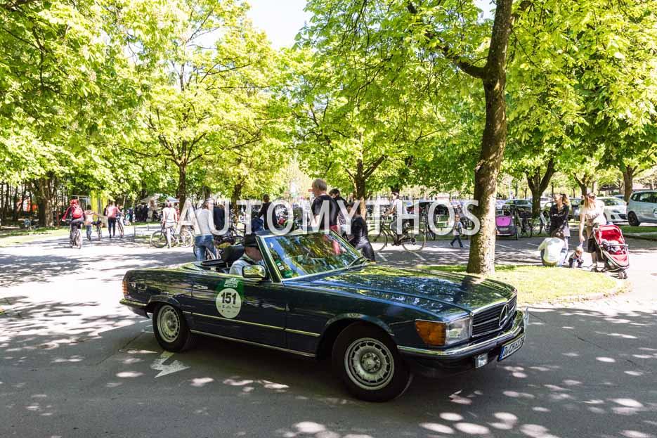 Automythos | 5. Bodensee Klassik 2016 | 151 | Christoph Hilser & Johannes Odenhausen | Mercedes-Benz 280 SL