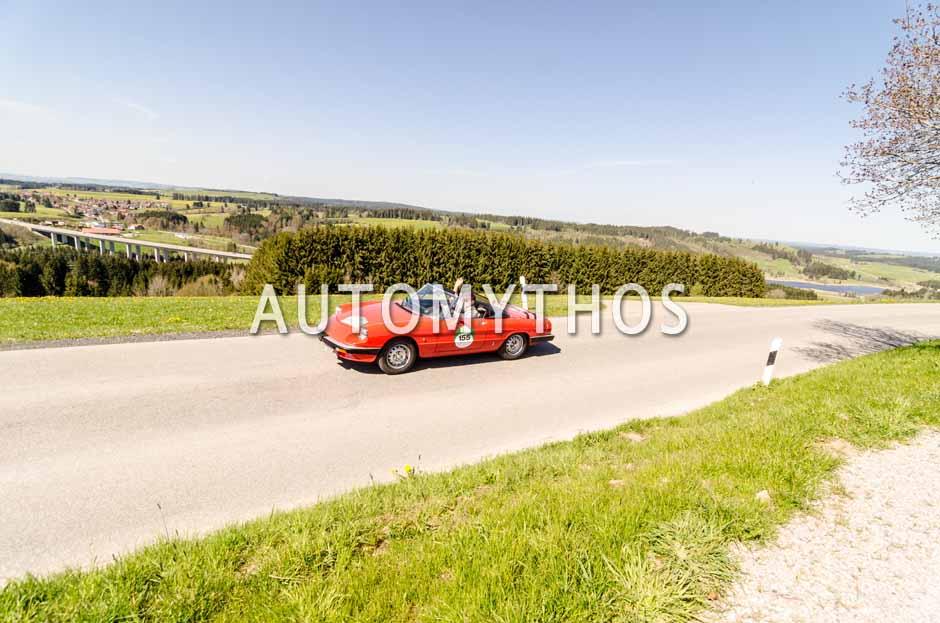 Automythos | 5. Bodensee Klassik 2016 | 155 | Francisco Sanchez & Julia Garcia | Alfa Romeo Spider