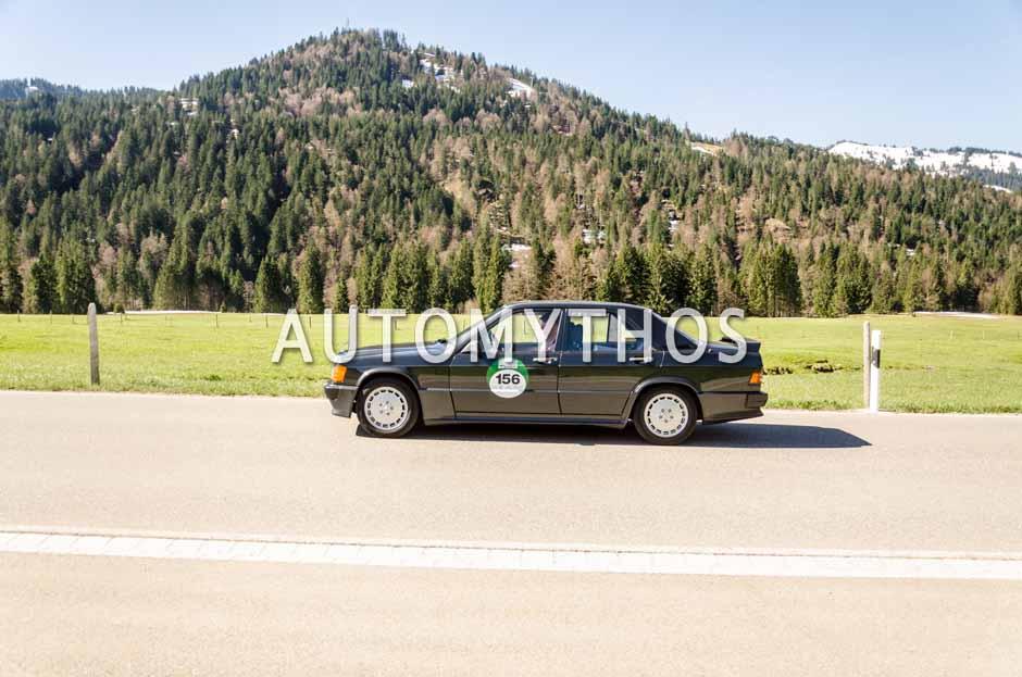 Automythos | 5. Bodensee Klassik 2016 | 156 | Wilfried Grillmayer & Conny Bittner | Mercedes-Benz 190 E 2.3-16