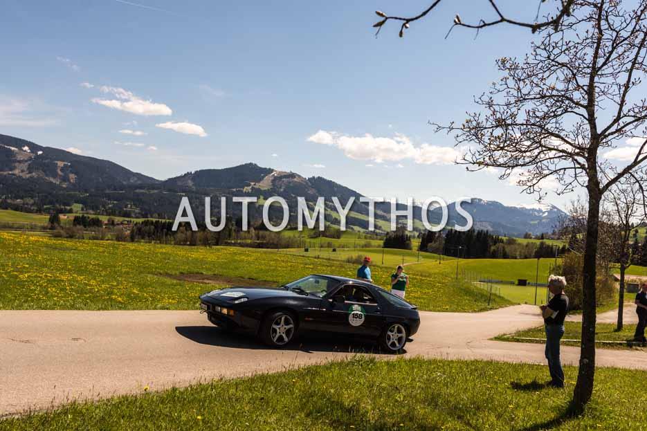 Automythos | 5. Bodensee Klassik 2016 | 158 | Peter Steiger & Sonia Steiger | Porsche 928 S