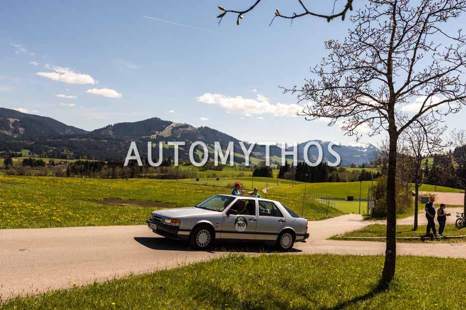 Automythos | 5. Bodensee Klassik 2016 | 160 | Michael Nicolaysen & Brigitta Nicolaysen | Saab 9000 Turbo