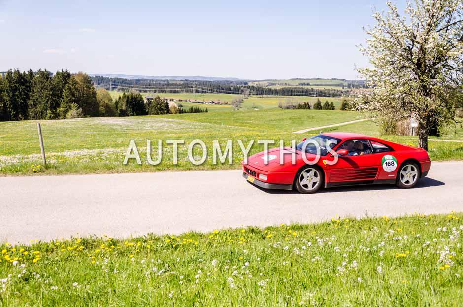 Automythos | 5. Bodensee Klassik 2016 | 168 | Dr. Roland Haas & Jean Schmit | Ferrari 348 TB