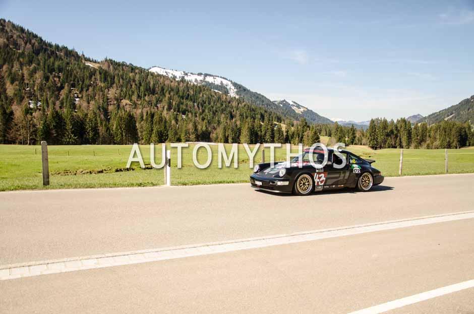 Automythos | 5. Bodensee Klassik 2016 | 172 | Richard Hirter & Andrea Hämmig | Porsche Carrera RS N/GT