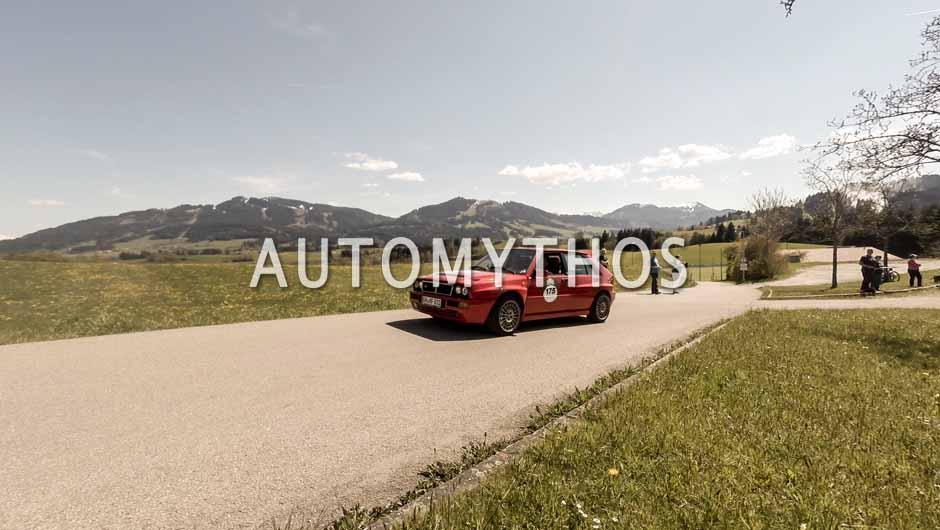 Automythos | 5. Bodensee Klassik 2016 | 175 | Sebastian Tauber & Christiane Hild | Lancia Delta HF Integrale sedici