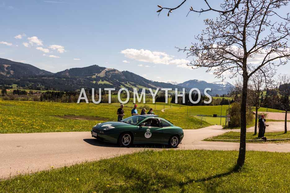 Automythos | 5. Bodensee Klassik 2016 | 179 | Steffen Roeder & Richard Roeder | Fiat Coupé