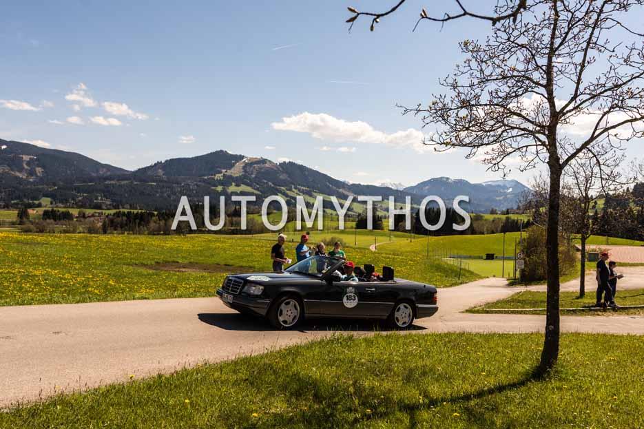 Automythos   5. Bodensee Klassik 2016   183   Bardo Magel & Noah Magel   Mercedes-Benz E 320 Cabriolet
