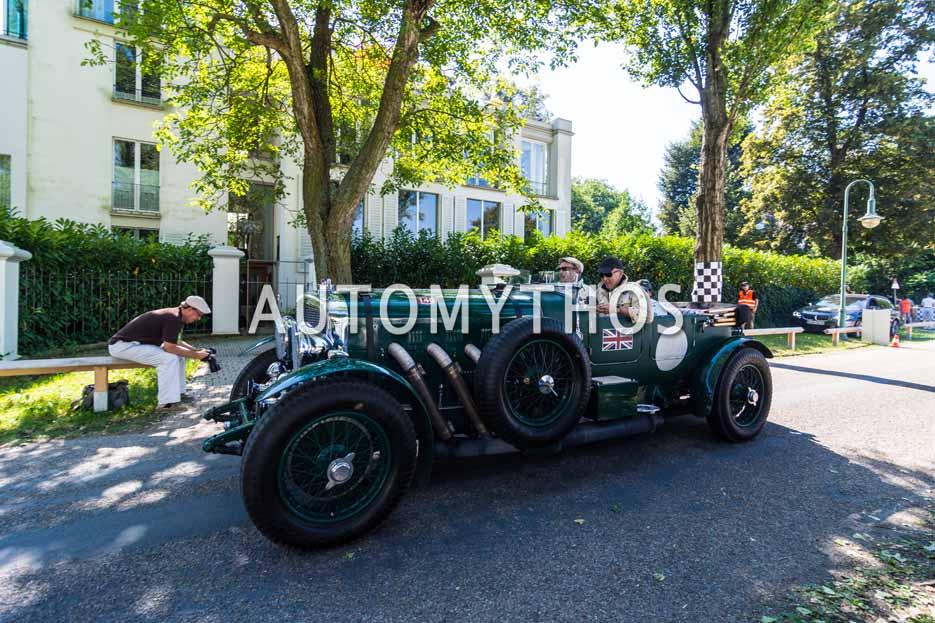Automythos | 9. Hamburg Berlin Klassik 2016 | 1 | Claus Heinrich & Jürgen Klensang | Bentley 8 Litre Le Mans Open Tourer